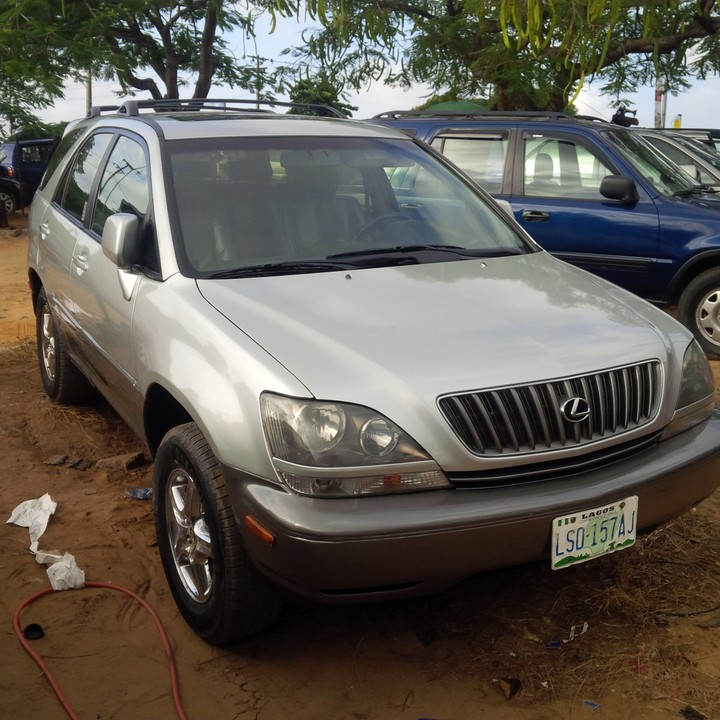 2002 Lexus 300 Rx: Pictures Of Cars For Sale In Nigeria