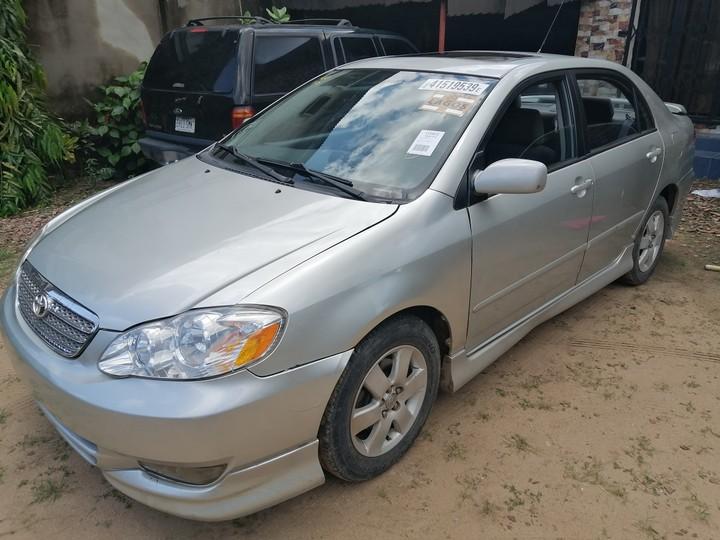 Toyota Corolla For Sale In Lagos Nigeria